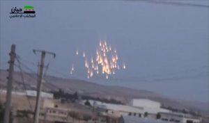 Russian phosphorus bombs, June 27, 2016
