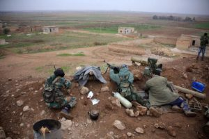 Syria regime surges toward ISIS held Tabqa June 2016